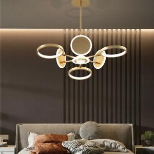 Kitchen Lamp LED Pendant Light Bar Ceiling Lights Room Gold Chandelier Lighting
