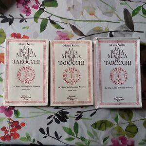 """Sadhu,""""La rota magica dei tarocchi. 2 volumi con cofanetto""""Edizioni Mediterranee"""