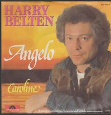 "7"" Harry Belts Angelo/Caroline 80`s phonographe signifiant"