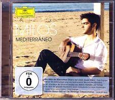 Milos KARADAGLIC MEDITERRANEO CD+DVD Albeniz Tarrega Granada Theodorakis Sevilla