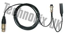 Cable for Heil microphones 3 pin XLR/8 pin round for Icom, CC-1-XLR-I8 equiv.