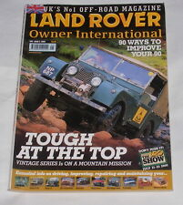 LAND ROVER OWNER INTERNATIONAL MAY ISSUE NUMBER 5 2000 - TOUGH AT THE TOP