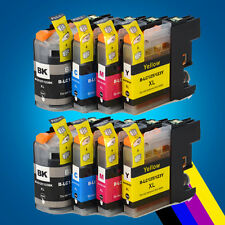 8  Chipped Ink cartridges for Brother LC123BK LC123C LC123M LC123Y MFCJ4510DW 2