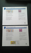 Scott Sc122  Souvenir Cards Finlandia 88  Helsinki   (1988) Mint and Canc Pair