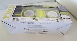 Sylvania TWS Bluetooth Speakers SP833-CITRUS TrueWireless Green Speakers NEW