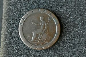 1797 Cartwheel Penny UK , Australian Proclamation coin, large