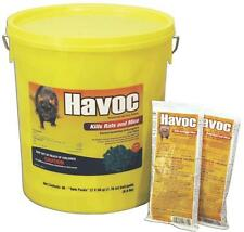 Neogen Havoc 116372 - 40 Piece 2 Pack 50 Gram Rat Poison Pellets in Pail