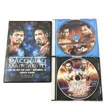 Manny Pacquiao Welterweight Championship Boxing Fights 3 DVD Bundle 2009 To 2011