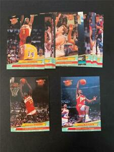 1992/93 Fleer Ultra Atlanta Hawks Team Set 15 Cards