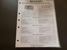 Original Service Manual Schaltplan  Sharp GF-4343H