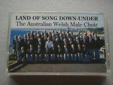 The Australian Welsh Male Choir - Land Of Song Down-Under Tape Cassette