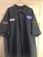 Vintage Mechanic Auto Shop Shirt Men's 4XL-SSL Short Sleeve