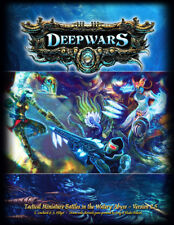 DeepWars printed rulebook -  28mm scale tabletop underwater wargame rules