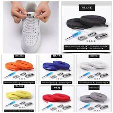 Cordones para calzado Sneacker entrenador Cierre Magnético Negro Blanco Naranja Gris