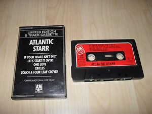 ATLANTIC STARR - 5 TRACK PROMO (CASSETTE/TAPE ALBUM) A&M PAPER LABELS