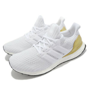 adidas Ultraboost 4.0 DNA White Gold Men Running Casual Sports Shoes FZ4007