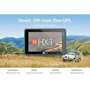 Hema HX-1 Navigator GPS : HX1 On and OFFROAD Navigation with FREE HX1 SUNVISOR