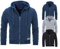 """Mens Padded Borg Fleece Sherpa Lined Full Zip Up Hoodie Sweatshirt Jacket """"9833"""""""