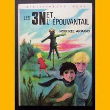 Bibliothèque Rose LES 3 N ET L'ÉPOUVANTAIL Roberte Armand 1975