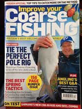 Improve your COARSE FISHING Magazine Issue 283 - March 19  - April 16, 2014