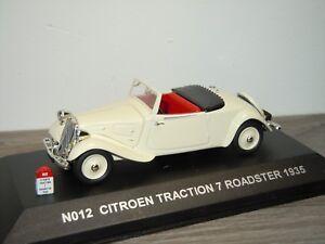 Citroen Traction 7 Roadster 1935 - Nostalgie 1:43 in Box *31451