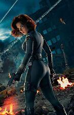 The Avengers (Black Widow) - Scarlett Johansson Promo Poster 24x36 v1 NEW