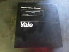 Yale ERC045VGA-ERC070VGA Forklift Maintenance Manual