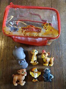 Lion Guard chunky bath toy figure playset toy bag Disney Beshte Fuli Bunga Ono