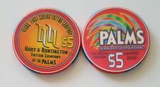 $5 Las Vegas Palms Hart & Huntington Tattoo Company Casino Chip - Uncirculated