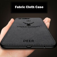 For Huawei Honor View 20/V20 Hybrid Slim Soft  Fabric Shockproof Case Cover