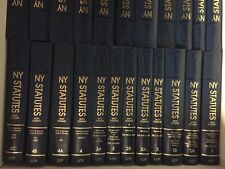 Lot Of 125 Volumes 1 to 44A of CLS NY STATUTES WITH FORMS by LCP