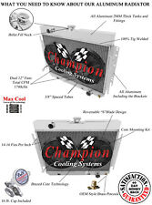 Radiator and Fan Combo For 63-68 GM Impala/Bel Air/Chevelle