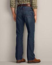 Eddie Bauer Men's Authentic Classic Straight Fit Jeans in Mediun Blue NEW 32x30