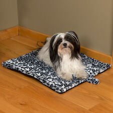 """Evelots Soft Self Heating Pet Bed,Cats & Dogs,Soft, 23""""L by 19""""W by 1""""H, Cheetah"""