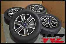 """Complete Set of Four 2015 18"""" Ford F150 Truck Wheels with Tires! Factory OEM"""