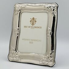 "925 Sterling Silver Photo Picture Frame*1032/9×13 USA 3,5""x 5,1"" inches"