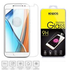 KHAOS For Motorola MOTO G4 Tempered Glass Screen Protector Guard Anti-Scratch
