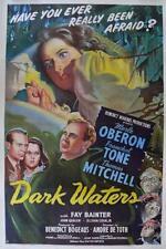 DARK WATERS 1944 RARE  MYSTERY THRILLER   ON DVD UNCUT !!