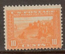 Scott #400 Mint Single, Ten Cent 1913 Panama-Pacific Expo. Perf. 12
