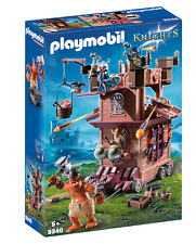 Playmobil Knights Mobile Dwarf Fortress Kids Play 9340 NEW SAME DAY SHIP