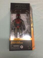 star wars black series 6? Mandalorian Super Commando Nice Sealed box ?
