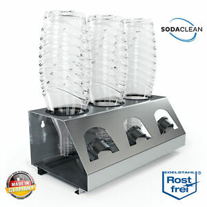SodaClean® Sodastream Crystal DUO Abtropfhalter Flaschenhalter Abtropfgestell