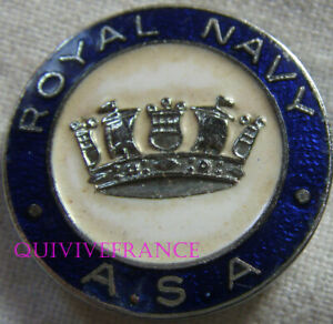 BG11359 - INSIGNE BADGE ROYAL NAVY ASA - CLUB DES NAGEURS DE LA MARINE