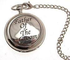 Double Hunter Pocket Watches Wedding Father Of The Groom Skeleton