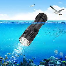 Impermeable 5000LM XM-L U2 LED Recargable Bucear Buceo linterna antorcha Luz