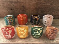 SCOUT WOGGLE - LODGE LEADER BEAVER SCOUT WOGGLES (Choice of Colour Leather)