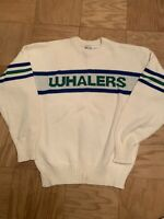 RARE & NEW Hartford Whalers Cliff Engle Sweater Medium NHL Vintage 1980s