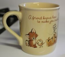 Cute Vintage Hallmark Mug - Perfect Gift For A Friend - Baby Animals Cheer Up