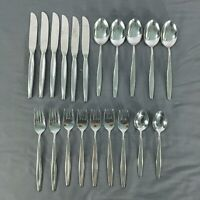 20 pc Carl Martens CMS Solingen Germany Modernist Stainless Flatware/Silverware