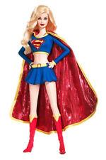 Supergirl Barbie Doll DC Comics 2008 Silver Label Super Hero Figure L9639 Mattel